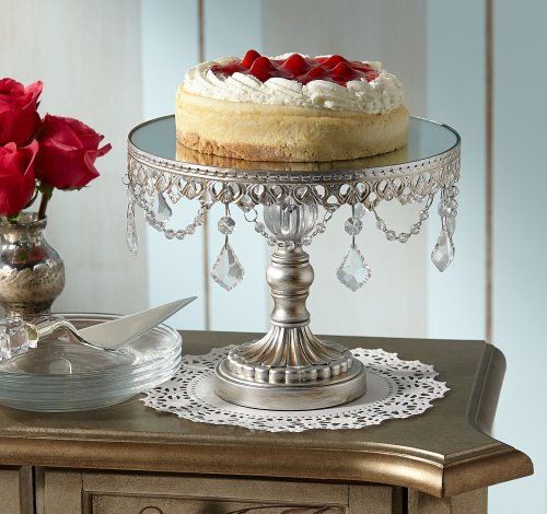 Antique Silver Beaded 10 Wide Small Cake Stand My Anniversary Gift