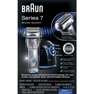 Braun Series 7 790cc-4 Electric Foil Shaver with Clean&Charge Station, Electric Men's Razor, Razors, Shavers